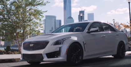 2017 Cadillac CTS-V Commercial Trailer