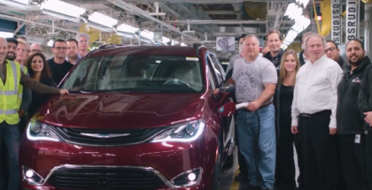 2017 Chrysler Pacifica Hybrid Production Factory (1)