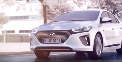 2017 Hyundai IONIQ Electric, Hybrid, Features & Technology (1)