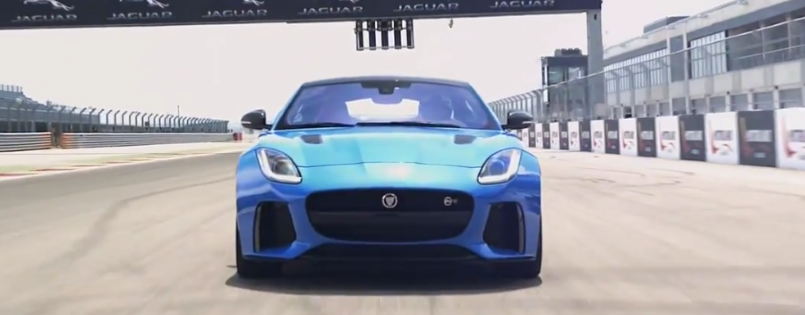 2017 jaguar f type svr exhaust sounds video dpccars. Black Bedroom Furniture Sets. Home Design Ideas