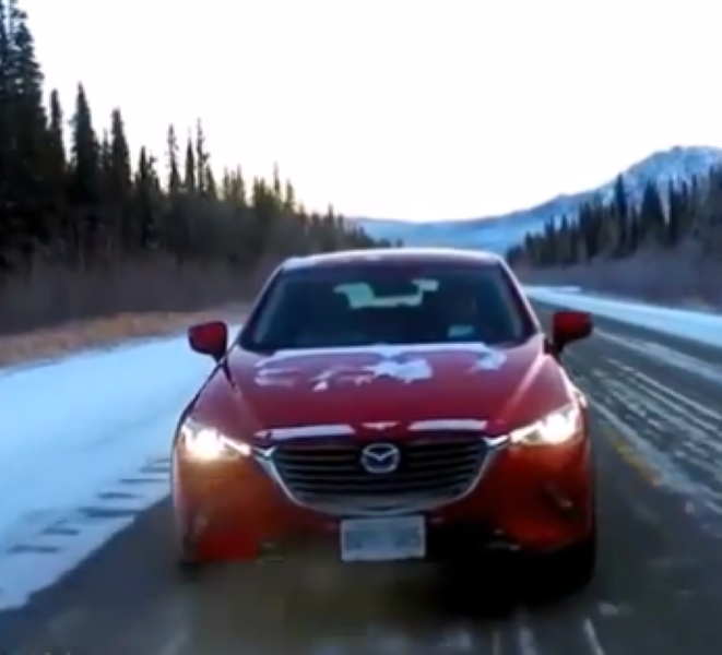 2017 Mazda CX 3 AWD Snow And Ice Performance Review