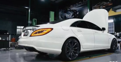 2017 Mercedes CLS550 With Fi Exhaust (1)