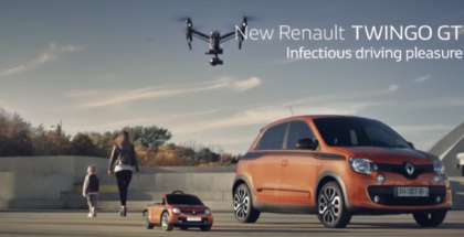 2017 Renault Twingo GT Commercial Trailer (1)