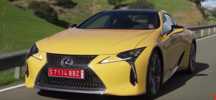 2018 Lexus LC 500 and LC 500h – Video | DPCcars