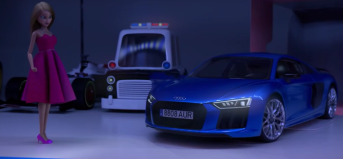 Audi Merry Christmas Featuring Audi R8 – Video