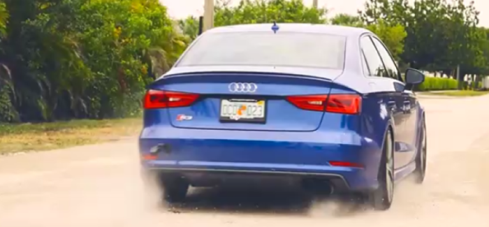 Audi S3 With AWE Exhaust – Video