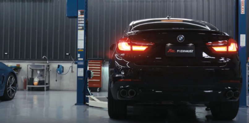 Bmw X6 With Fi Exhaust Video Dpccars