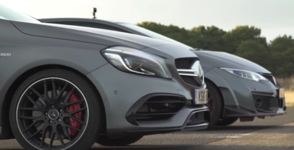 Drag Race - Mercedes A45 AMG vs Honda Civic Type R (1)