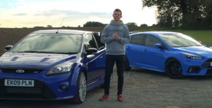 Ford Focus RS Mk2 vs Ford Focus RS Mk3 (1)
