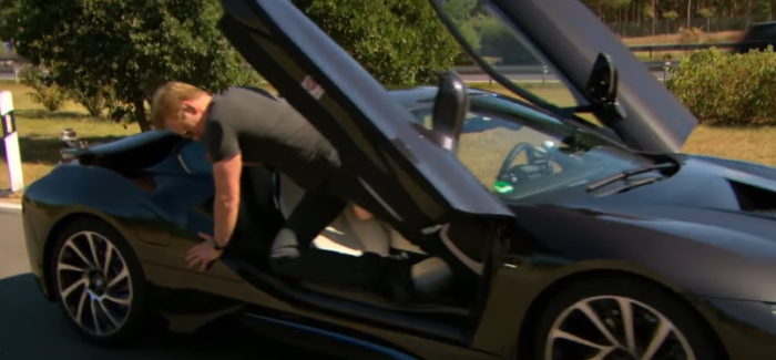 High Speed with Conan and a BMW i8 on the Autobahn – Video