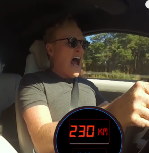 High Speed with Conan and a BMW i8 on the Autobahn (2)