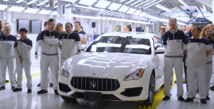 Maserati Factory Production Assembly Plant