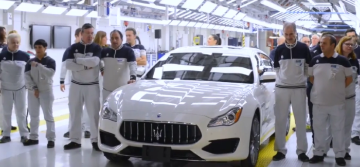 Maserati Factory Production Assembly Plant – Video