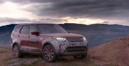 New 2018 Land Rover Discovery Prototype Media Test Drive