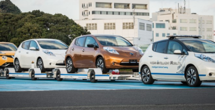 Nissan Driverless Towing System