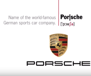 this is how to pronounce porsche while the proper way to pronounce. Black Bedroom Furniture Sets. Home Design Ideas