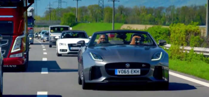 Top Gear U2013 Jaguar F Type SVR U2013 Video