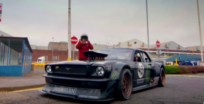 Top Gear - Ken Block Drifts London EXTENDED Version (1)