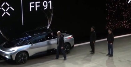 1050HP Faraday Future FF 91 Unveiling At CES 2017 (1)