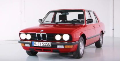 1981 To 1988 2nd Generation E28 BMW 5 Series History (1)