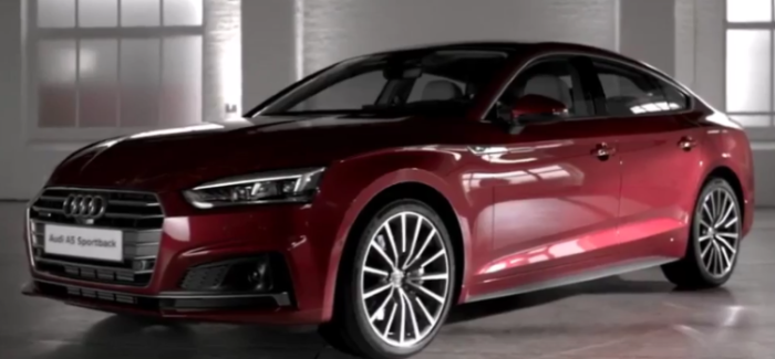 2018 audi a5 sportback overview video dpccars. Black Bedroom Furniture Sets. Home Design Ideas