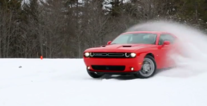 2017 Dodge Challenger GT All Wheel Drive AWD Review, Test Drive, Interior (1)