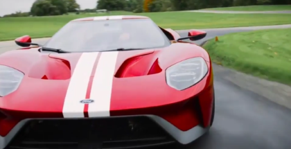 2017 Ford GT Digital Cluster With 5 Drive Modes (1)
