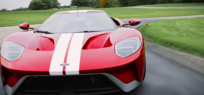 Ford Gt Digital Cluster With  Drive Modes Video