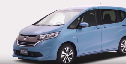 2017 Honda Freed Overview and Crash Test