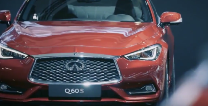 2017 Infiniti Q60S At Brussels Motor Show