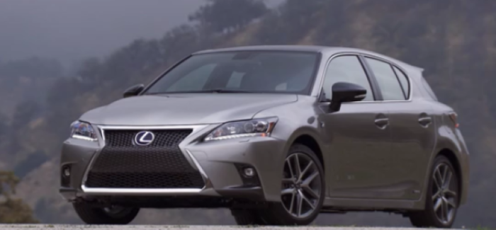 2017 Lexus Ct 200h F Sport Video