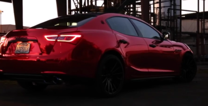 2017 Maserati Ghibli 3.0T With Fi Exhaust System