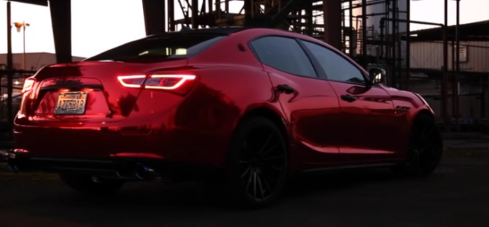 2017 Maserati Ghibli 3.0T With Fi Exhaust System – Video