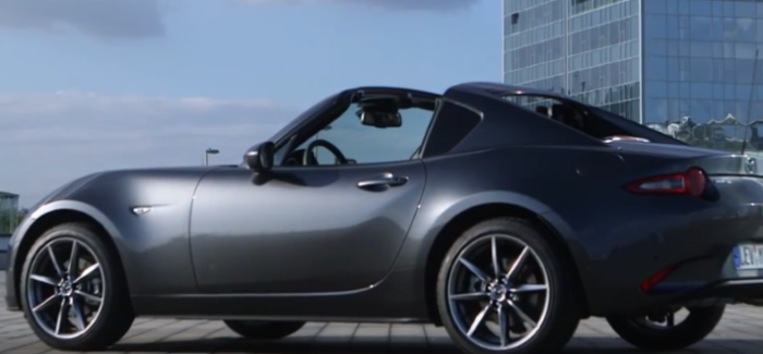 2017 Mazda Mx 5 Rf In Machine Grey Soul Red Test Drive And Interior Video