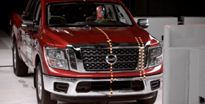 2017 Nissan Titan Crew Cab Crash Test