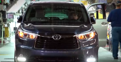 2017 Toyota Highlander, Sequoia, Sienna Factory Assembly Plant (1)