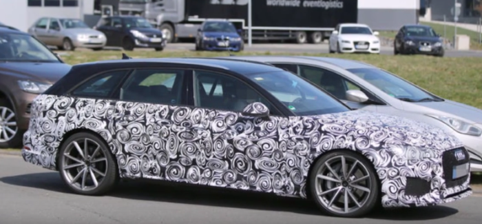 2018 Audi RS4 Avant B9 Spied – Video