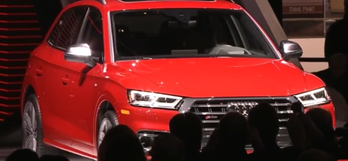 2018 Audi SQ5 Unveiling At NAIAS 2017 – Video