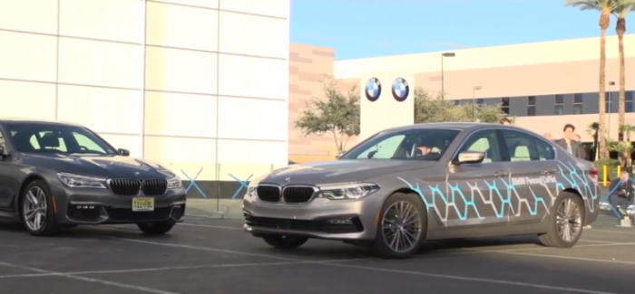 2018 BMW 5 Series Robot Valet Parking & Augmented Gesture Control – Video