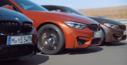 2018 BMW M4 Coupe, Convertible and BMW M3 Sedan (1)