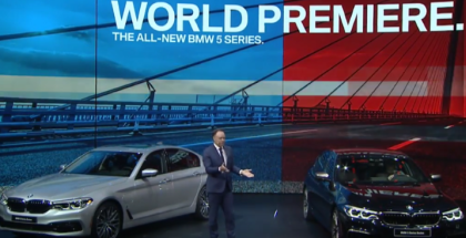 2018 BMW M760 and 5 Series Unveiling At Detroit Auto Show NAIAS 2017 (1)