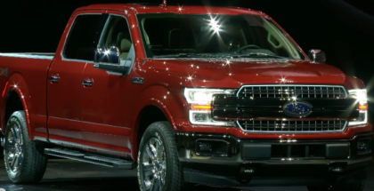 2018 Ford F-150 Unveiling At Detroit Auto Show NAIAS 2017 (1)