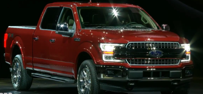 2018 Ford F-150 Unveiling At Detroit Auto Show NAIAS 2020 – Video ...