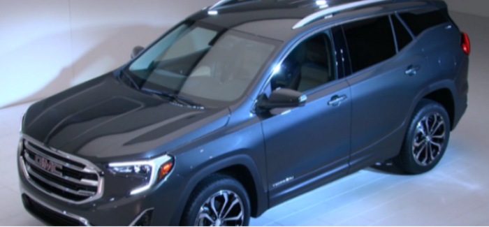 2018 GMC Terrain Unveiling At Detroit Auto Show NAIAS 2017 – Video