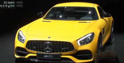 2018 Mercedes AMG GT Coupe Edition 50 & AMG GTS Unveiling At NAIAS 2017 (1)