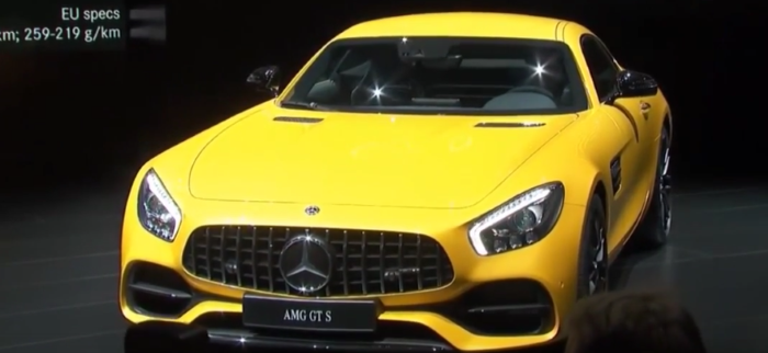 2018 Mercedes AMG GT Coupe Edition 50 & AMG GTS Unveiling At NAIAS 2017 – Video