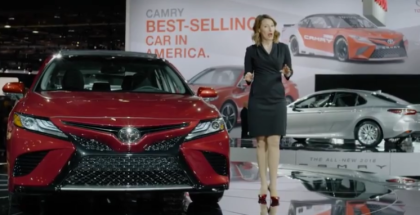 2018 Toyota Camry & Camry Hybrid Introduction