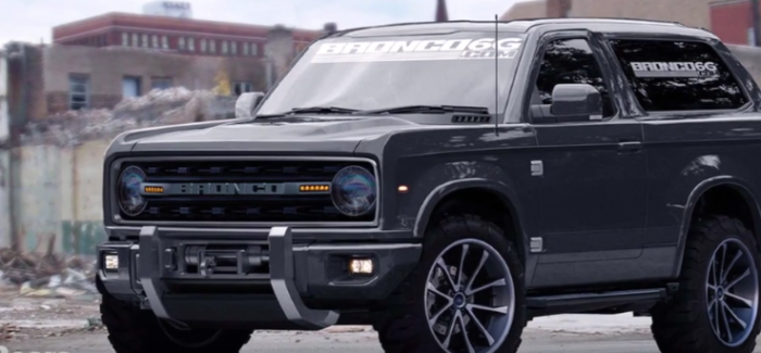 2020 Detroit Auto Show.2020 Ford Bronco 2019 Ranger Announcement At Detroit Auto