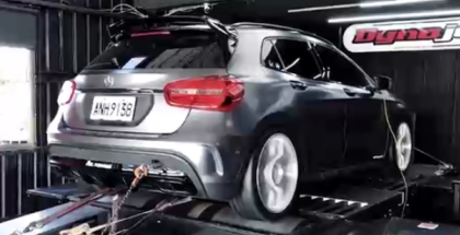 536whp Tuned Mercedes GLA45 With Fi Exhaust Dyno Run (1)