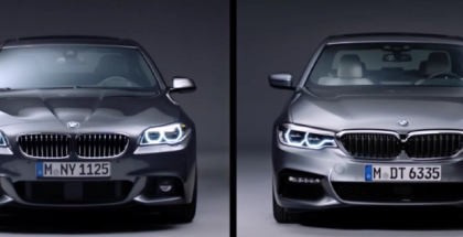 6th vs 7th Generation - 2017 BMW 5 Series - F10 vs G30 (1)